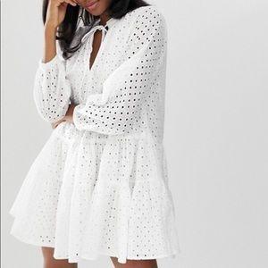 ASOS white tunic dress